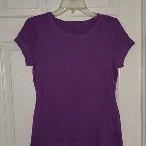 Purple fitted tee...MUST BUNDLE